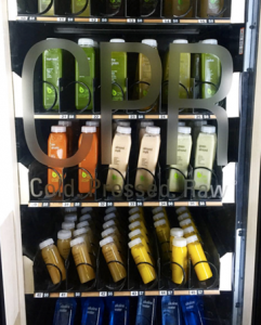 vending machine interior