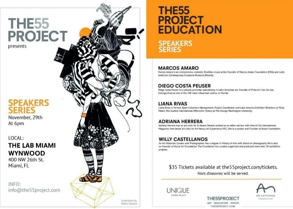 The55project Speakers Series - TheLab Miami