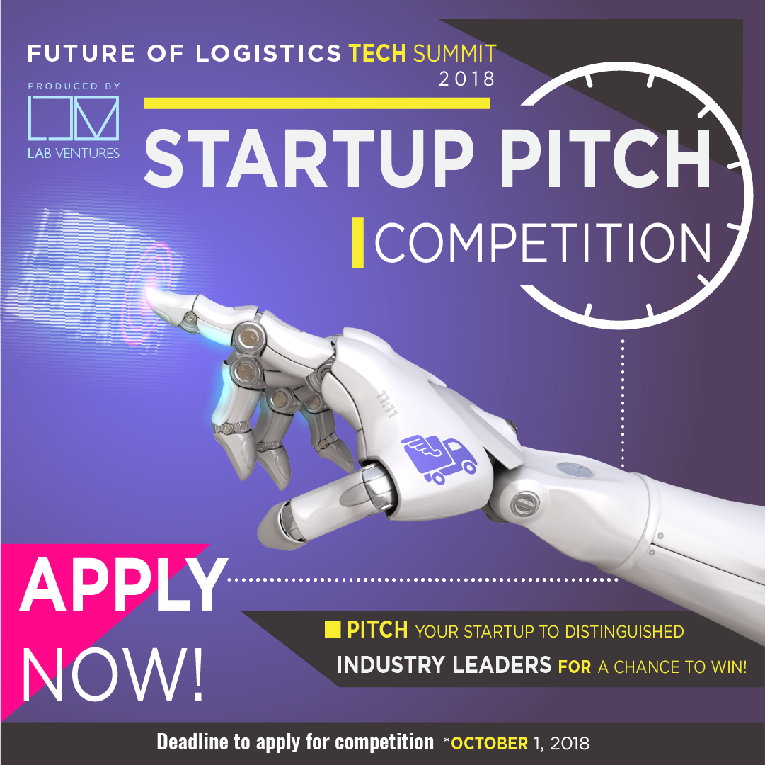 Logistics Startup Pitch Competition - TheLab Miami